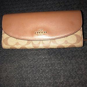 Full size coach wallet